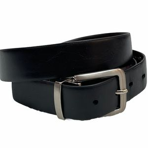 Levi's Belt Black Brown Synthetic Leather